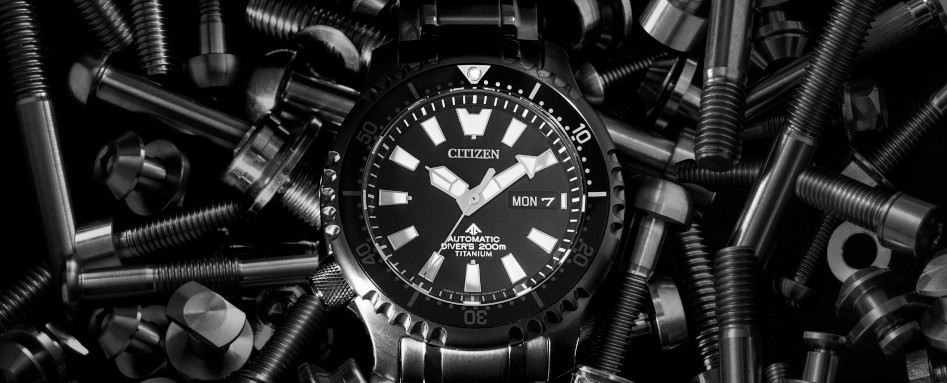 CITIZEN announces the PROMASTER Mechanical Diver 200m – Titanium Technology 50th Anniversary